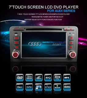 7'' inch touch screen lcd dvd player