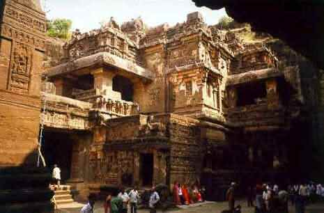 Historical Places in India - Ajanta And Ellora Canves