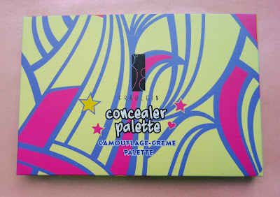 pro concealer pallete 15 colors review