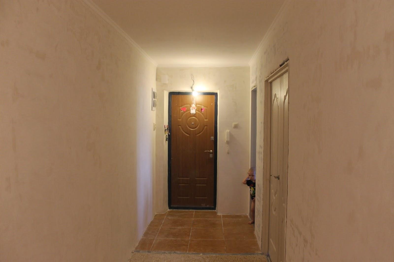 Недорогой ремонт своими руками в коридоре 186