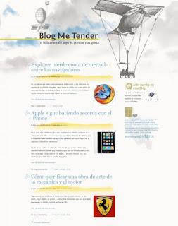 Blog Me Tender