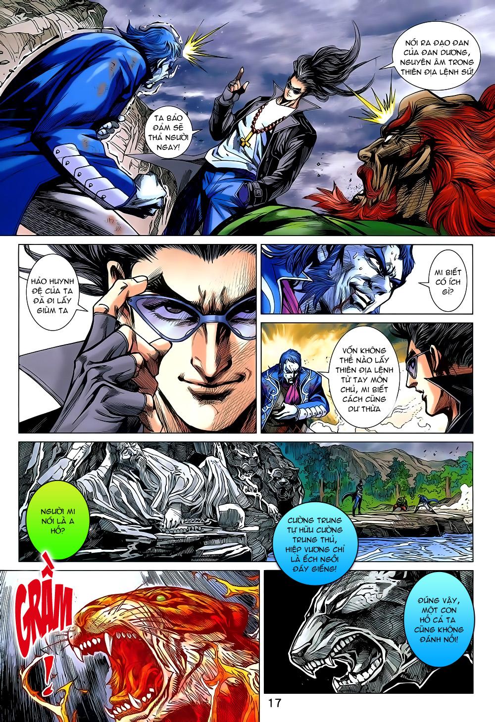 Tân Tác Long Hổ Môn chap 800 Trang 17 - Mangak.info