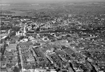 Bomb sites in Portsmouth in the early 1950's