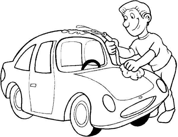 Cars Lightning McQueen Coloring Pages