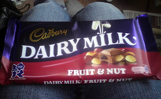 Dairy Milk Fruit & Nut bar