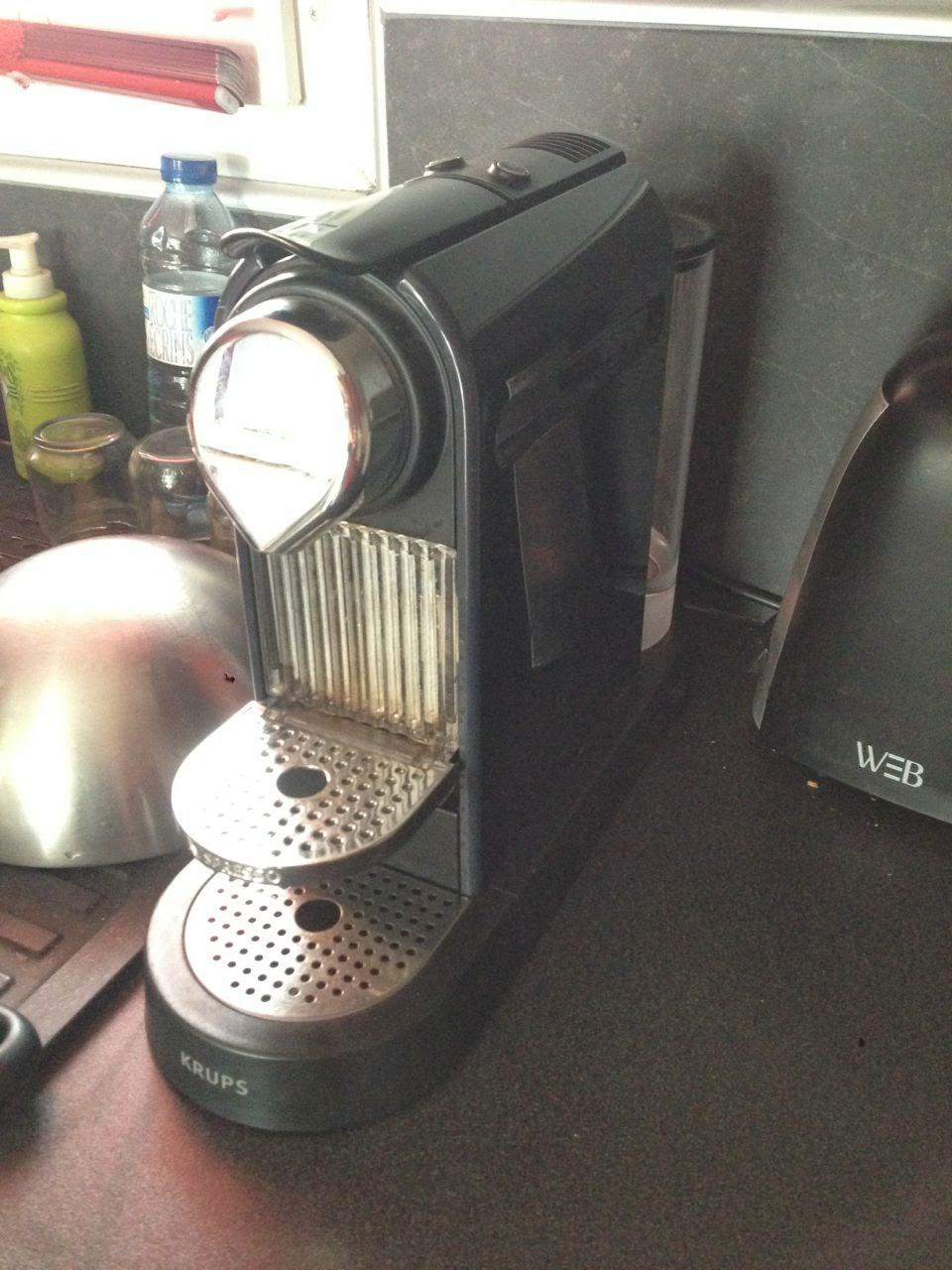 Demontage Nespresso Krups u Nespresso Citiz Krups