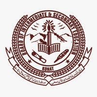 BISE Kohat 9th Class Result 2016