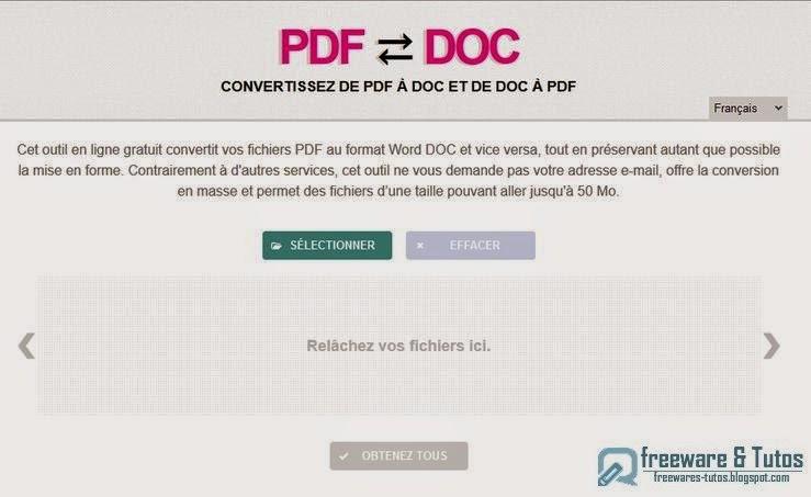 convertir pdf jpeg en ligne