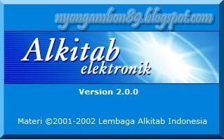 Download Software Alkitab Elektronik