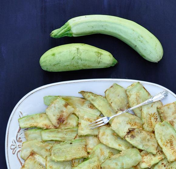 Crispy fried zucchini