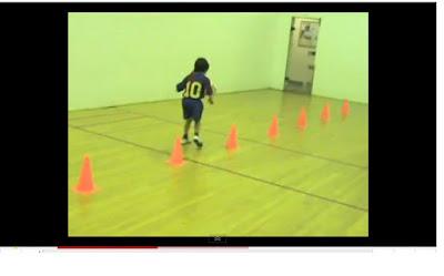 entrenamiento niños entre 4 y 6 años