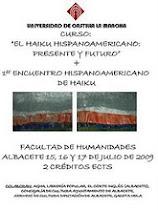 Hace dos años: Primer Encuentro Hispanoamericano de Haiku