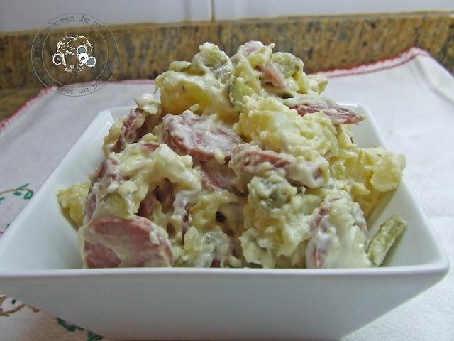 Los sabores de mi vida ensalada alemana de patata - Ensalada alemana de patatas ...