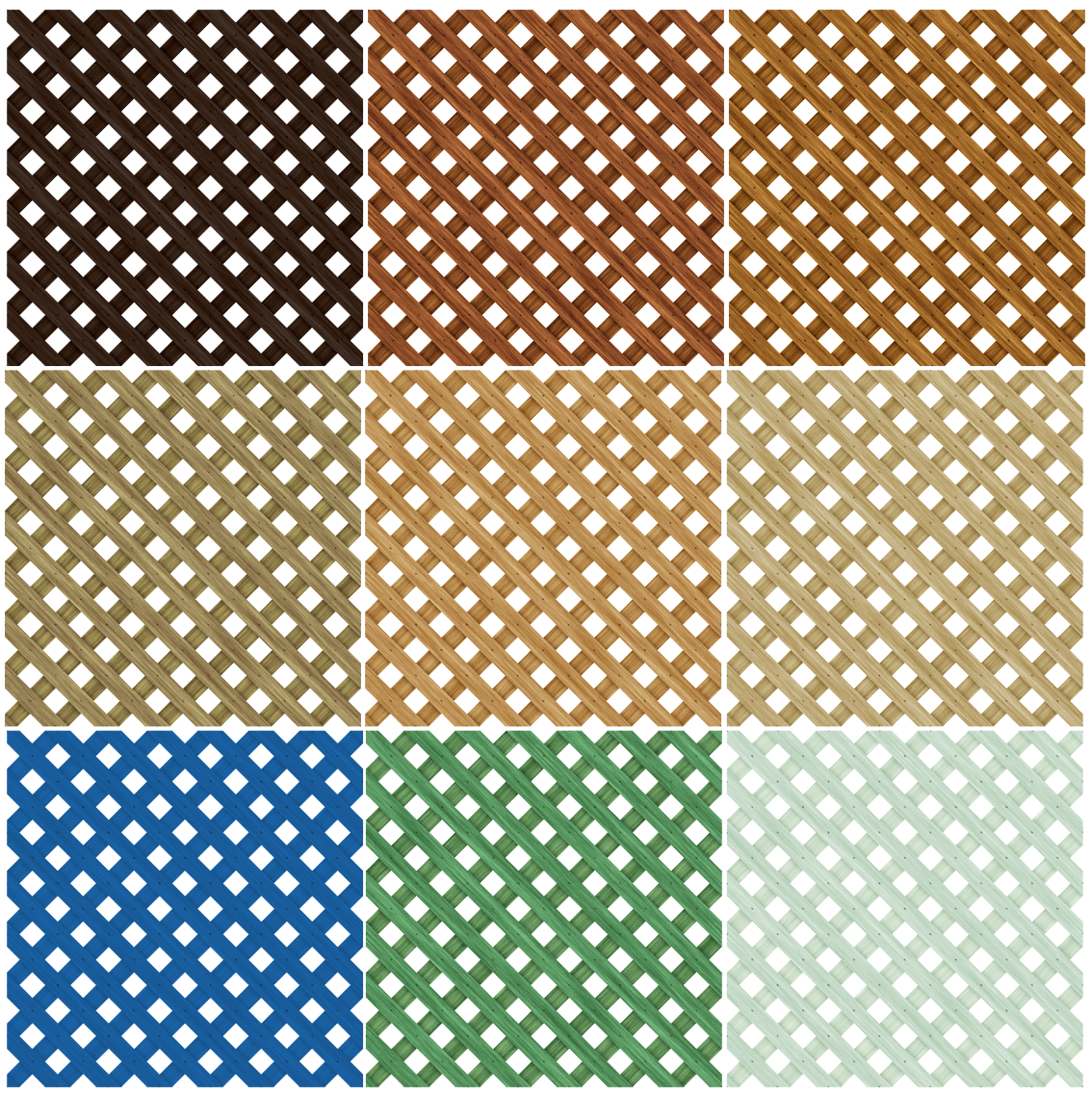 A Vooden Seamless Lattice PNG
