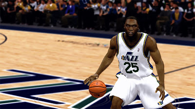 NBA 2K13 Al Jefferson Cyberface NBA2K Patch