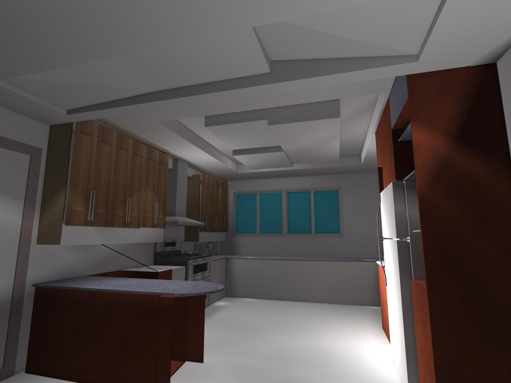 H a m l e t interiore mobiliarios y acabados para la - Plafones de cocina ikea ...