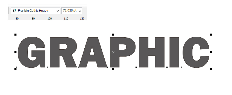 How to create simple 3D text in coreldraw - graphicRP