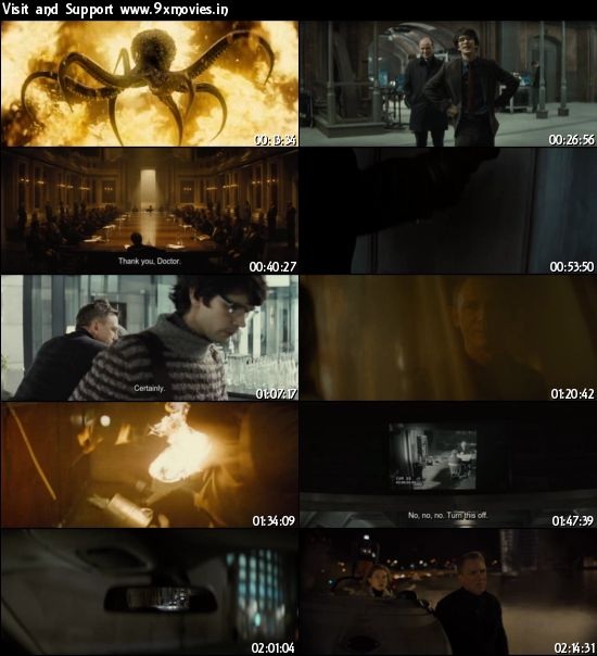 Spectre 2015 English DVDRip 750mb ESubs