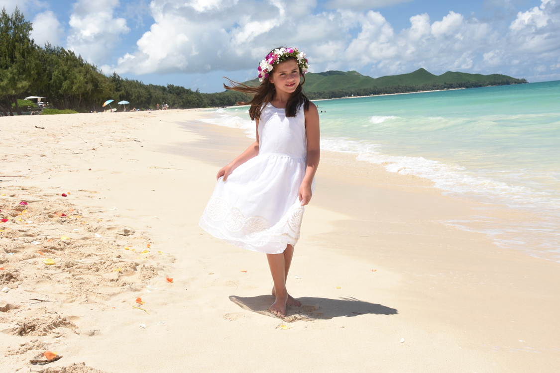 Daughter in Hawaii