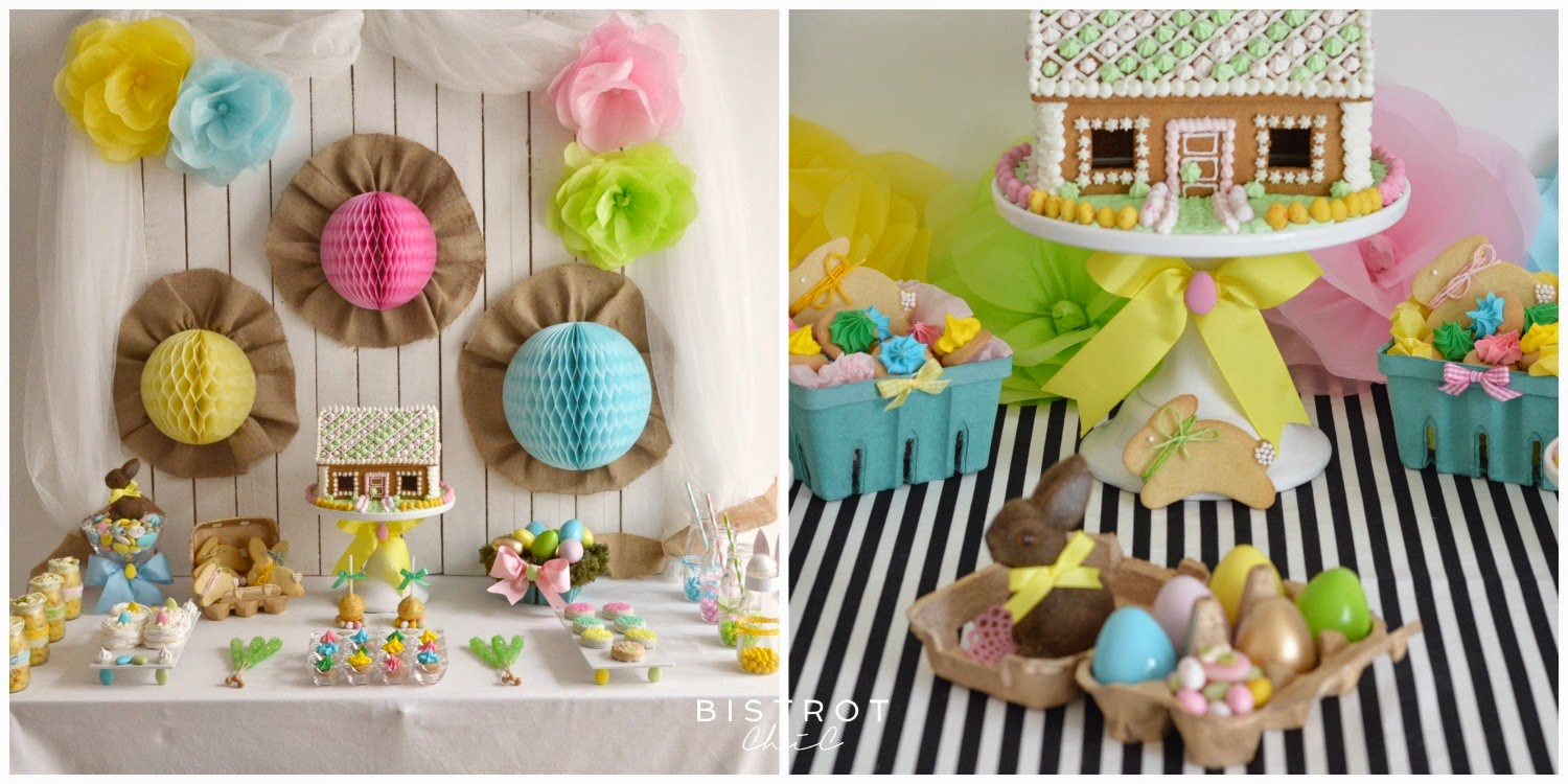 Easter Parties by BistrotChic