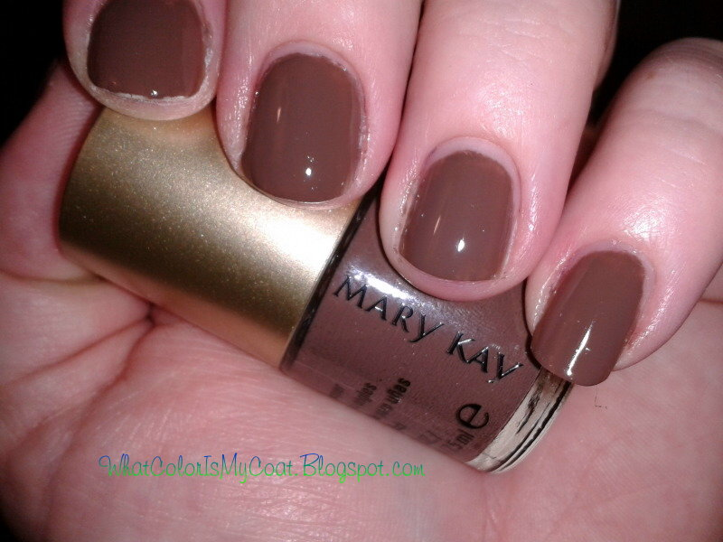 What Color is my Coat?: Mary Kay Polish - Lavish Sable
