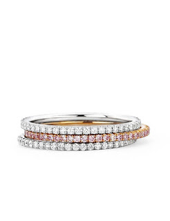 Martin Katz Infinity Diamond Stacking Rings Emma Roberts Emmy Awards 2015 Jewellery Blog