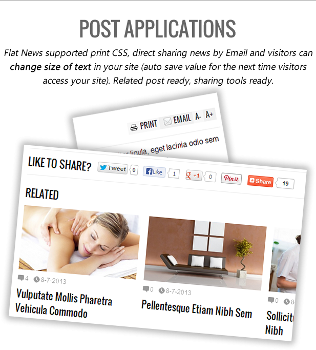 Flat News - Easy News & Magazine Template - 6