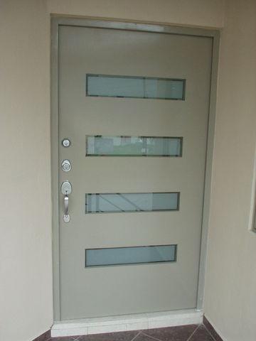Maquinados y paileria mapaza puertas principales for Puertas de herreria para entrada principal