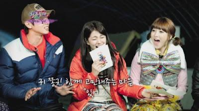 Jiyoung Kara dan Suzy Miss A Invincible Youth 2