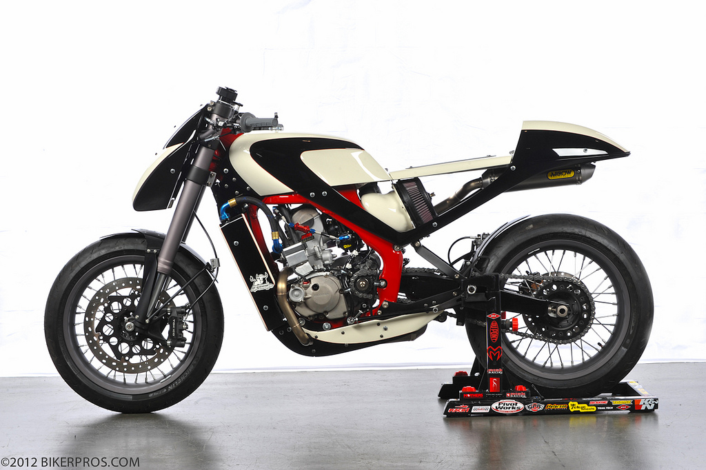 Racing Caf U00e8  Honda Crf  U0026quot Caf U00e8 Racer U0026quot  By Darrell Schneider