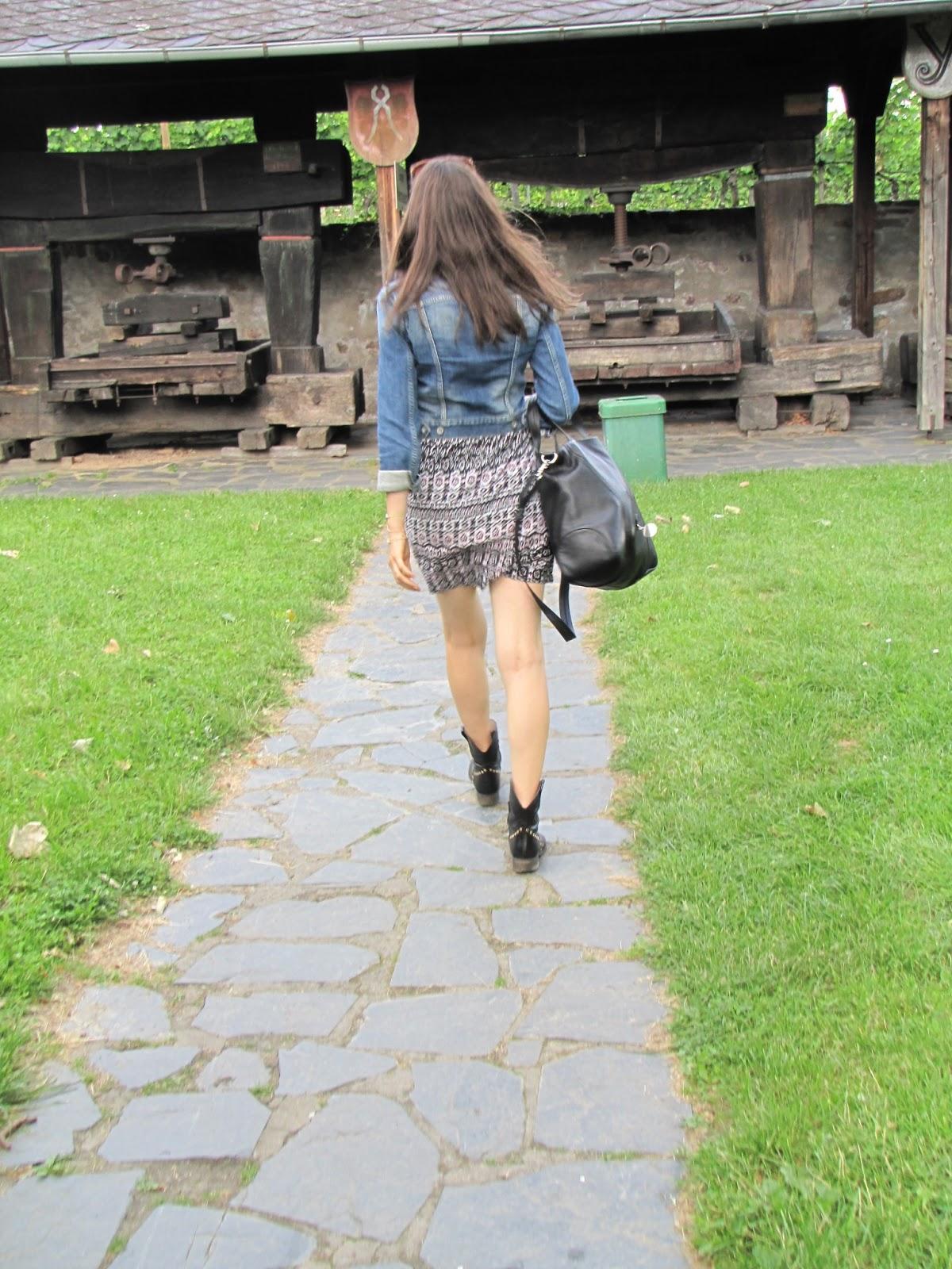 Hallhuber Jeans Jacket, Vila dress