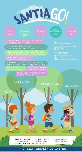 Campamento Urbano SantiaGO! (24 de junio al 31 de julio)