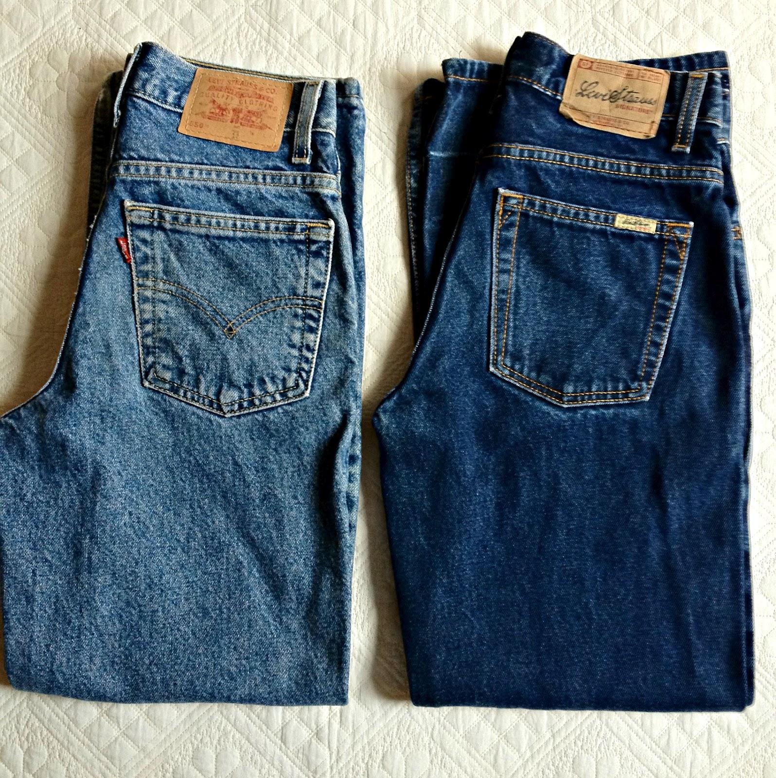 Bloggista Diy Vintage Levi S High Waisted Shorts