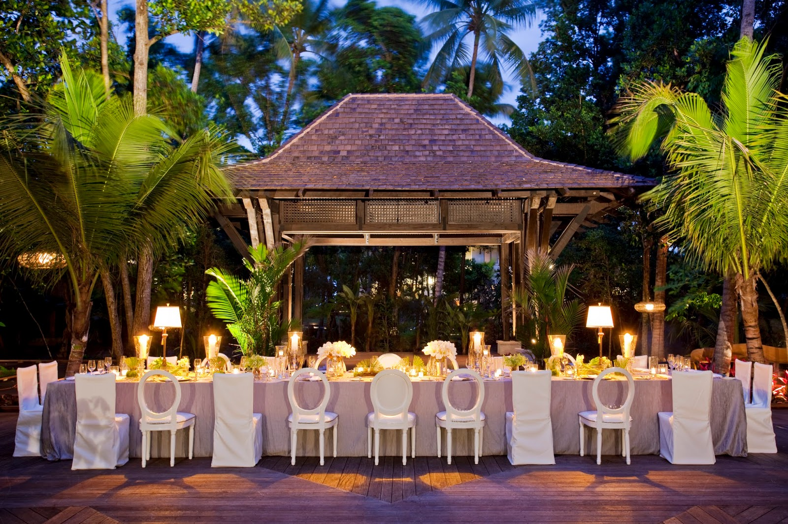 Tiffany cook events destination puerto rico celebrity for Terrace wedding