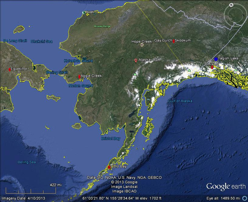The Latest Worldwide Meteor/Meteorite News: Alaska ...