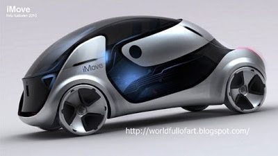 imove, icar, apple, concept car, future car, cool, smart, creative, design