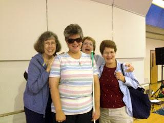 Laurel Jean with United Methodist Women of Latta at Mission u.