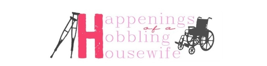 Happenings of a Hobbling Housewife