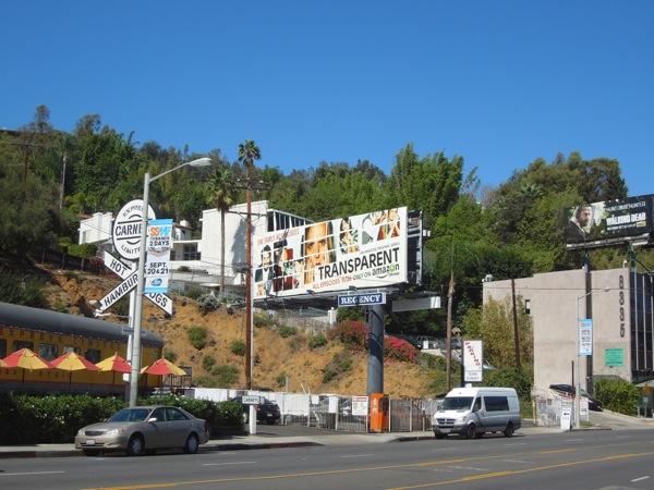 Transparent season 1 billboard Sunset Strip
