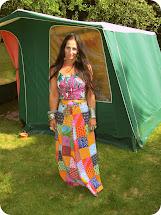Vintage Vixen In Tents Heat