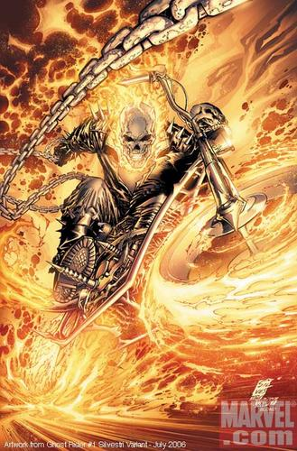 Ghost Rider El Vengador Fantasma Kyo Kusanagi San