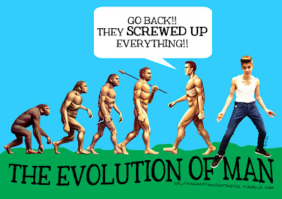 evolution of man funny