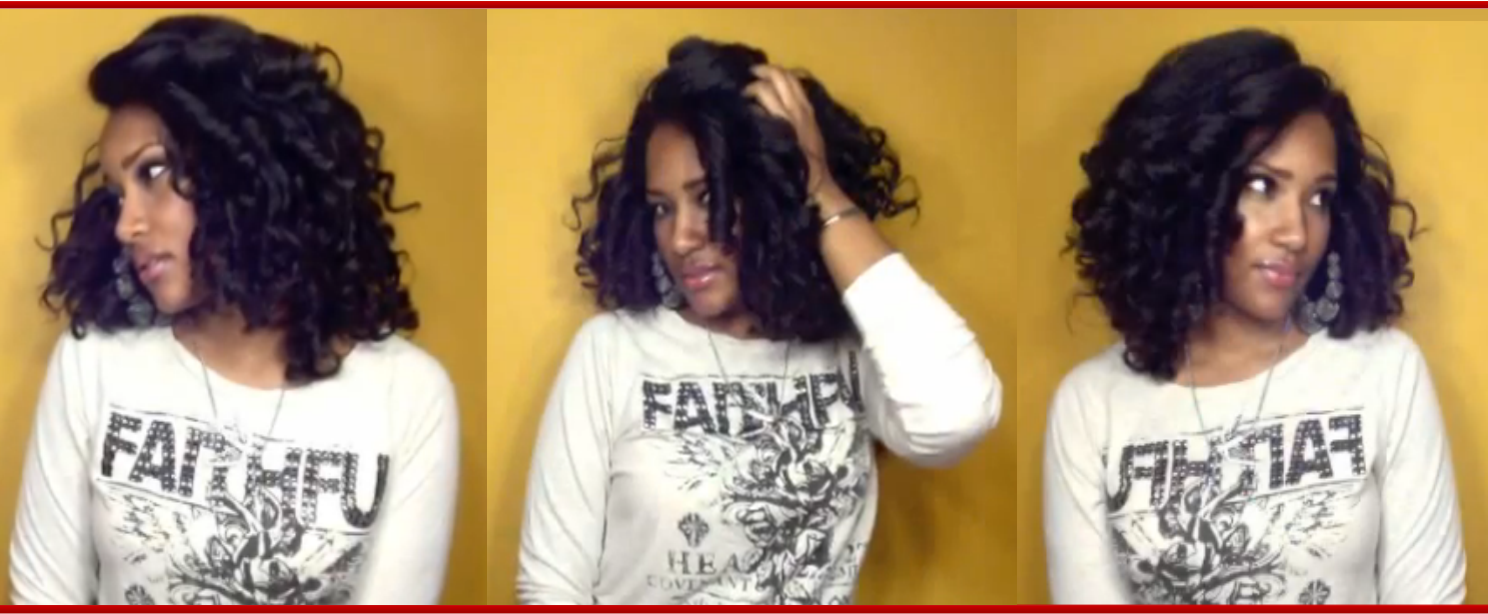 how to put flexi rods in hair
