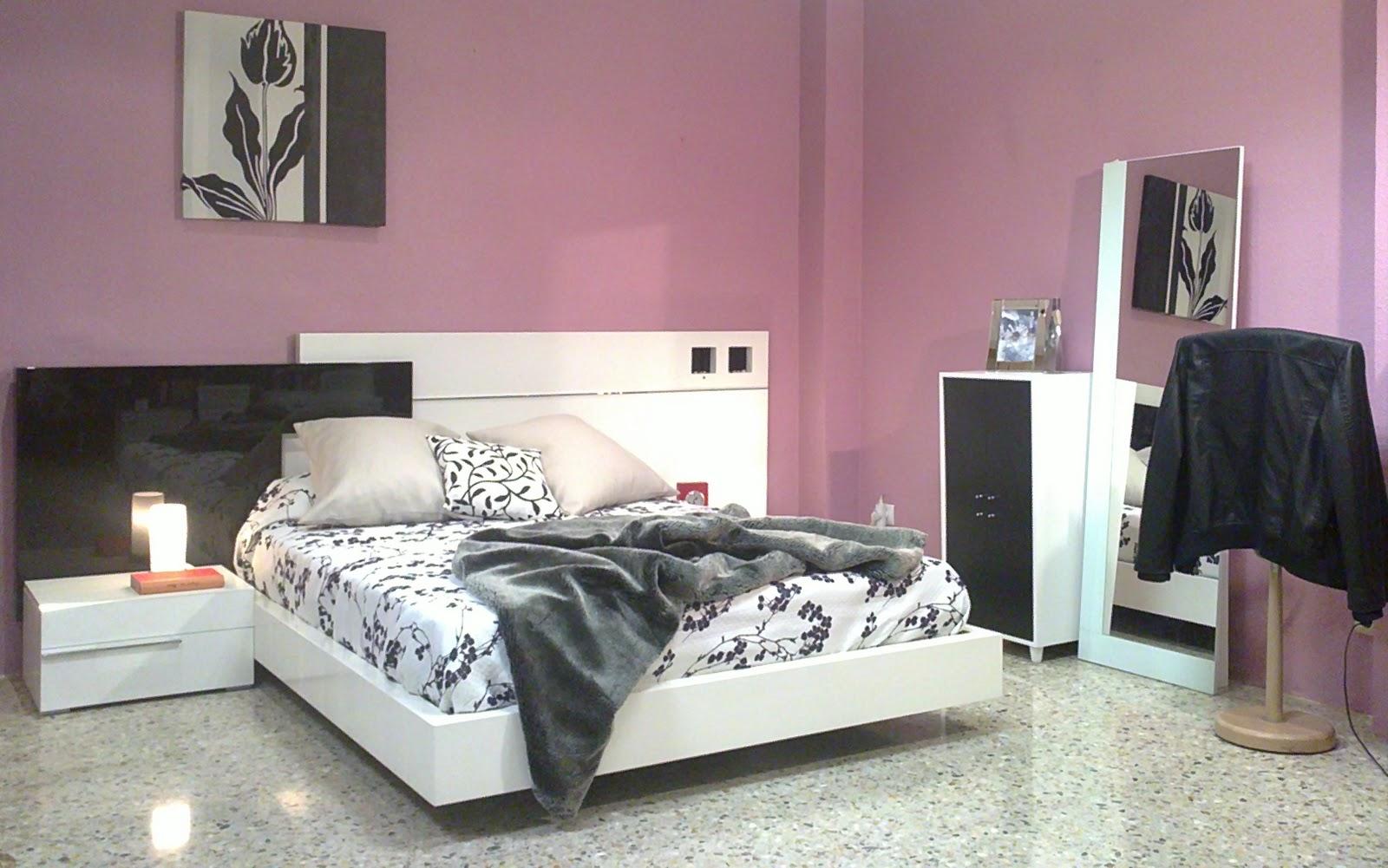 Muebles Aznar Estilos y Tendencias.: Dormitorio Moderno lacado ...