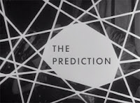 Title card, The Prediction, episode 10, Thriller, 1960