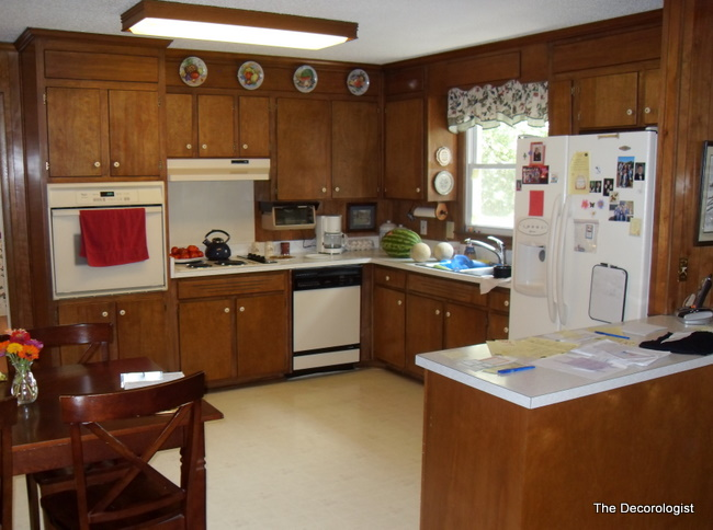 - Staging/Decorating On The Cheap!: Paneling........ugh