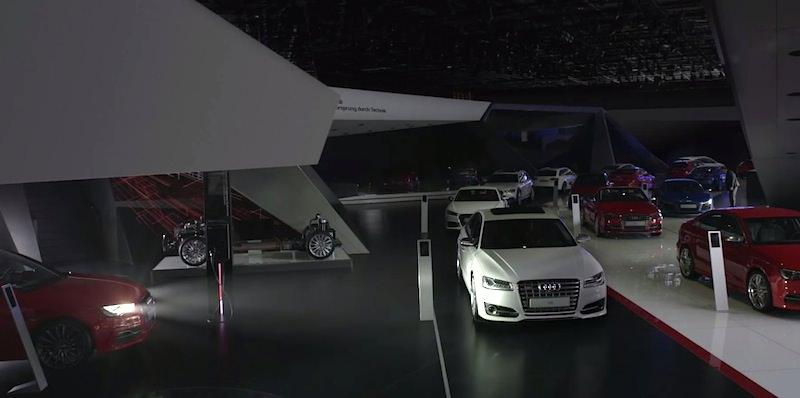 【動画】アウディが「ライト」をテーマにしたクールなプロモーション映像を公開