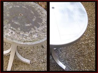 Décoplus: Nettoyer le mobilier de jardin en plastique