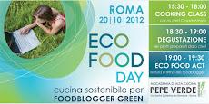 Sono una delle 20 foodblogger selezionate per l'ECO Food Day