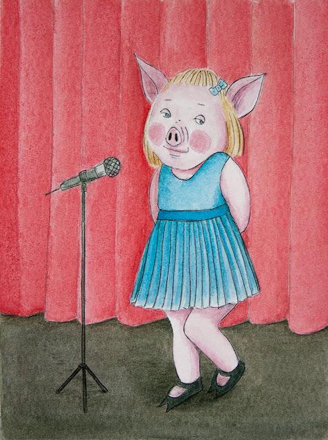 shy pig yara dutra